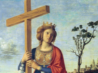 The memorial of Saint Helena
