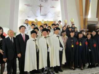Three Investitures in the Pacific and East Asia