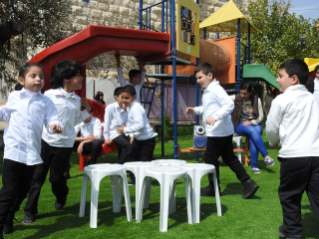 The work of the Holy Child Program in Beit Sahour