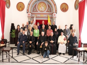 The pilgrimage of the Grand Magisterium's staff
