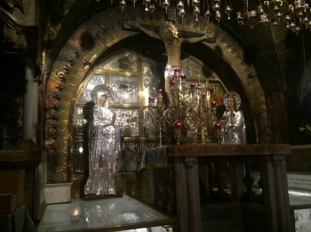 Golgotha in the Basilica of the Holy Sepulchre