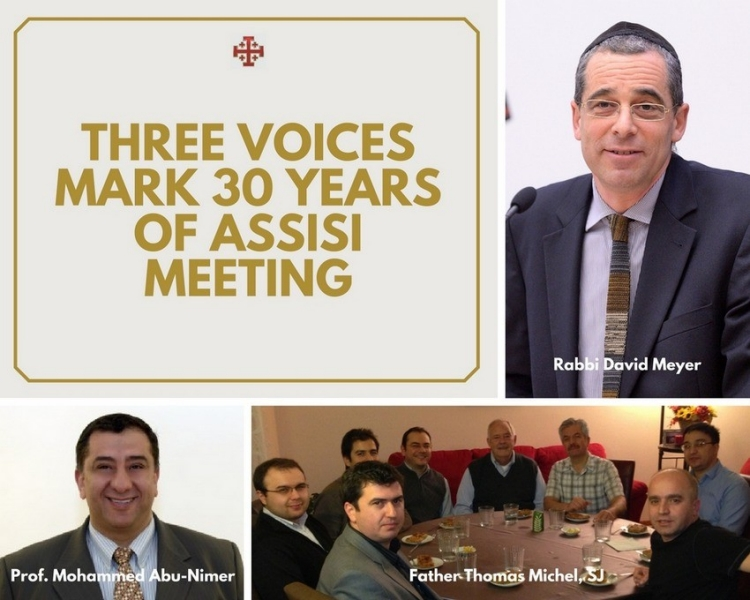 Three voices mark 30 years of Assisi Meeting