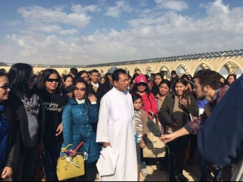 Father Gerard and the Filipino Chaplaincy in Jordan